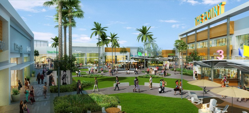 "Federal Realty plans ""chef driven"" restaurants and high end fashion stores at its eight-acre, $80 million The Point shopping center on the northeast corner of Rosecrans Avenue and Sepulveda Boulevard in El Segundo"