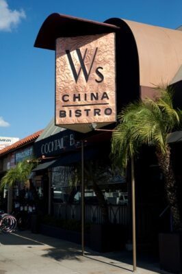 W's China Bistro has been serving its unique blend of Chinese, Southeast Asian, and South American cuisine in Redondo's Riviera Village for a decade. Photo by Chelsea Schreiber