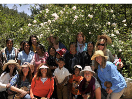 A group of PV women in Oaxaca with Plant with Purpose.