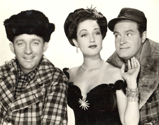 """""""The Road to Utopia,"""" the 1946 picture starring Bing Crobsy, Dorothy Lamour, and Bob Hope, screens at 8:15 tomorrow (Friday) and Saturday, plus 2:30 p.m. on Saturday and Sunday, in the Old Town Music Hall, 140 Richmond St., El Segundo Admission, $10 general; $8 seniors. (310) 322-2592 or go to OldTownMusicHall.org"""
