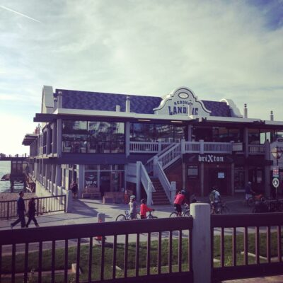 Barney's Beanery at the Redondo Pier has opened.
