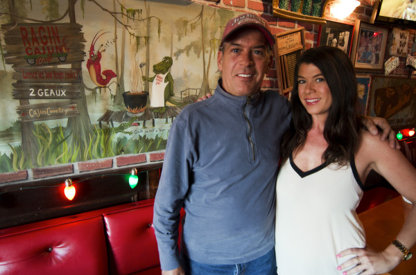 The last year brought the happy return of the Ragin Cajun, as Stephen and Jeannine Dominigue reopened what had been a cherished Hermosa Beach Pier Avenue restaurant in a new partnership with Suzy's Bar and Grill on Aviation Boulevard. Photo by Brad Jacobson
