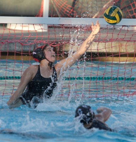 Strong play by Mira Costa goalkeeper Katy Heatherton has helped the Mustangs reach the semifinals for the first time since 2006. Photo by Ray Vidal