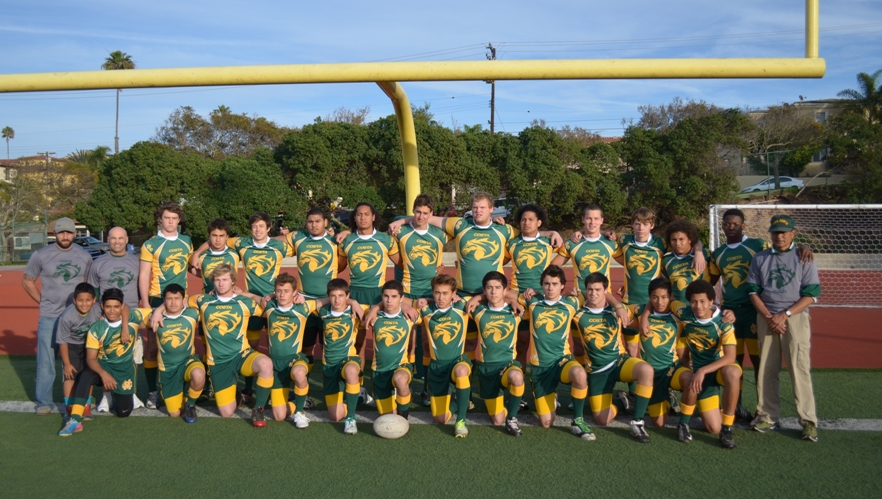 Running its record to 9-0, Mira Costa's rugby team has reached the playoff semifinals in its inaugural season. Photo courtesy of Suzanne Kobel