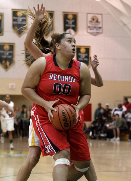 Tatiana Maimot and the Redondo Union Sea Hawks have their sights set on a CIF Division 2AA championship. Photo by Ray Vidal