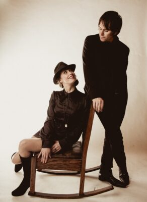 Onstage tonight: Sarah Lee Guthrie and husband Johnny Irion bring their eclectic folk sound to Saint Rocke