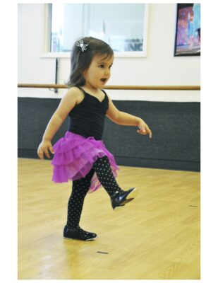 Eden Godin, a toddler student at School of Dance and Music.