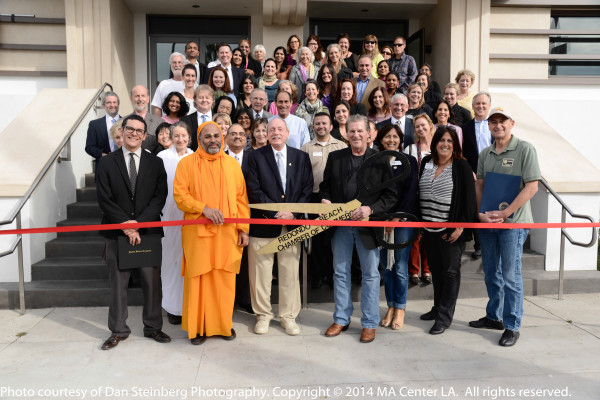 The January 21 ribbon cutting for the Los Angeles MA Center in Redondo Beach.
