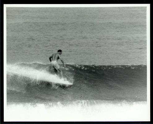 McFarlane at Torrance Beach, July 1964