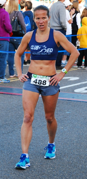 Redondo Beach's Nathalie Higley captured the women's division crown. Photo by Randy Angel