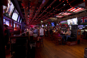 Barney's Beanery has 50 beers on tap to help wash down their popular chilis. Photo by Brad jacobson (CivicCouch.com)