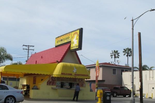 El Burrito Jr. Photo by Alyssa Morin