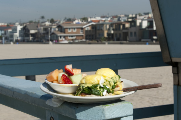 Martha's Egg's Benedict. Photo by Chelsea Schreiber