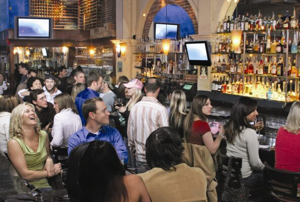 Mediterraneo's combination of tapas and extensive wine and craft beer selections have made it a popular Pier Avenue gathering place.