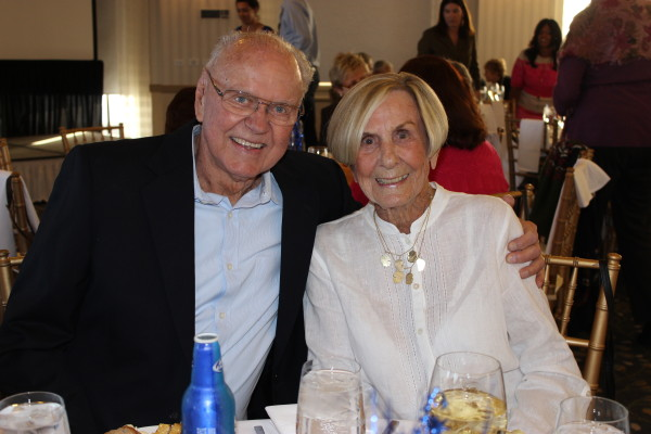 2012 Spirit of Wellness honorees Jim and Barbara Johnston were on hand to celebrate the achievements of the 2014 class.