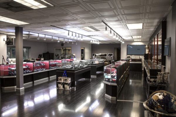Inside South Bay Gold's Torrance showroom. Courtesy of South Bay Gold