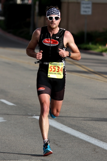 Jimmy Wills considers the Redondo Beach Super Bowl 10K one of his favorite races. Photo by Ray Vidal