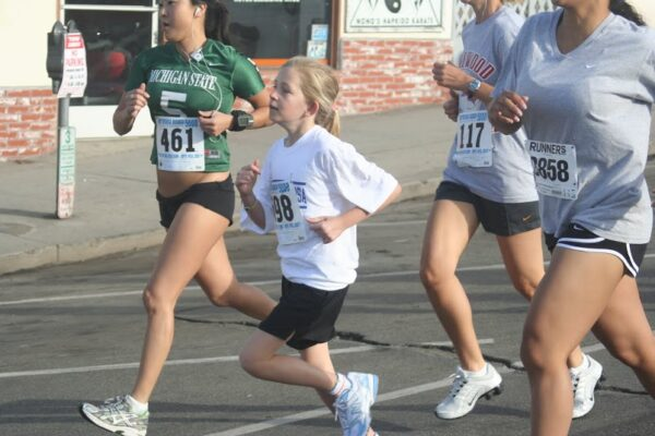The Hermosa Beach 5000 Run/Walk/Skate on Sunday, April 20 includes divisions for all ages, including a 2 and under 25 yard sprint. For more information visit 5000hb.com