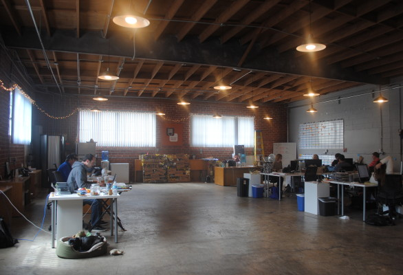 Beyond Meat's headquarters on Main Street in El Segundo. Photo by Kelley Kim