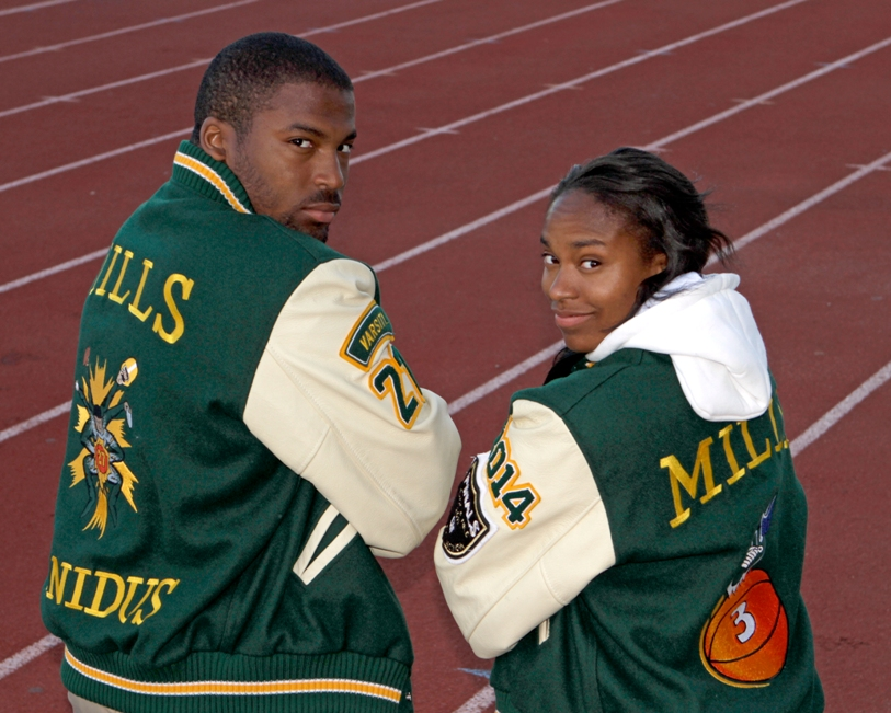 Mira Costa High twins Brandon and Camille Mills. Photo by Ray Vidal
