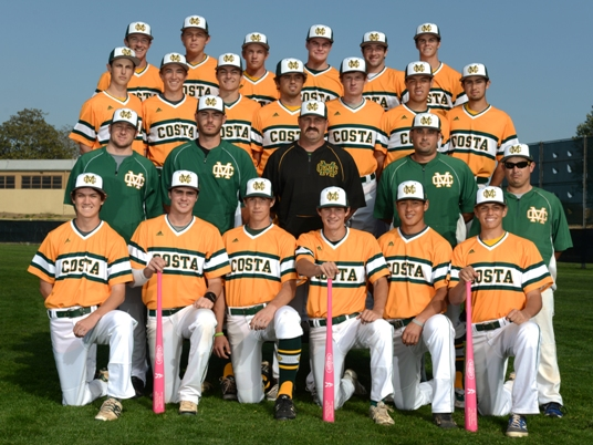 Mira Costa's baseball team will use pink bats during its Bay League game against Leuzinger. Photo by Axel Koester