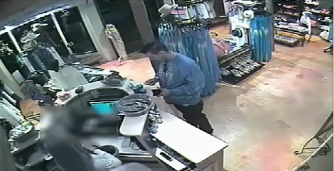 Surveillance footage released by MBPD Wednesday
