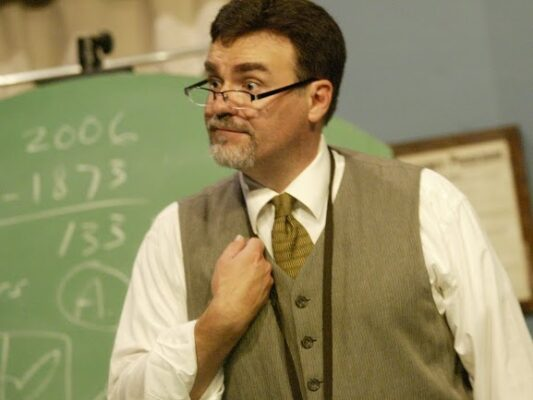 """He does it all: David Graham in """"Underneath the Lintel"""" PHOTO COURTESY MICKEY ELLIOT/LITTLE FISH THEATRE"""