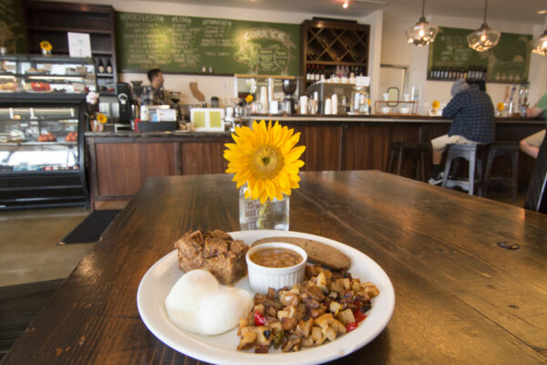 Irish breakfast at Cork'er. Photo by Brad Jacobson
