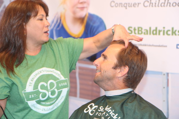 Manhattan Beach firefighter Steve Fairbrother, who raised over $1500, discusses his cut.