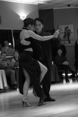 "Photo of dancers from ""Tango Amor,"" a coffee table photography book by Gayle Goodrich. COURTESY OF GAYLE GOODRICH"
