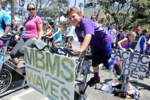 Tyler Hirsberg improvises on the standard spin. Tyler is the son of Tour de Pier co-founder John Hirshberg