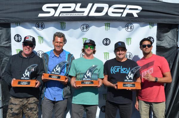 Mike Balzer, Ted Robinson, Alex Grey, Hurley International