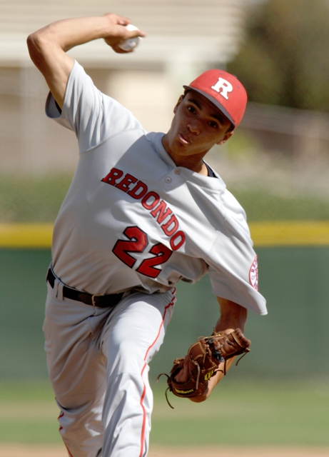 Redondo Union ace Cassius Hamm leads the Sea Hawks into the CIF Southern Section Division 3 playoffs. Photo by Ray Vidal