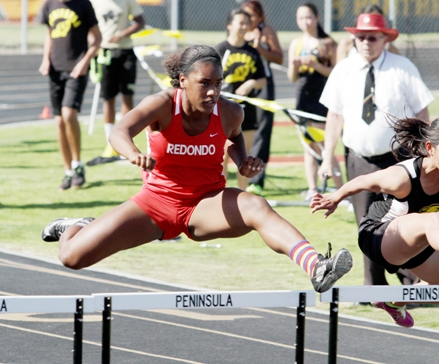 Kristen Hamlin will represent Redondo Union in four events at the CIF Southern Section Championships on Saturday at Cerritos College. Photo by Ray Vidal