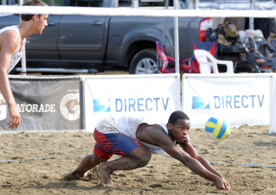 Louis Richard qualifies for the Youth Olympic Games at the NORCECA qualifying event last month in Carolina, Puerto Rico.