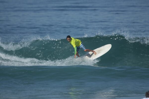 Ethan Ward led his team to first place in the surf division, and first place, overall.