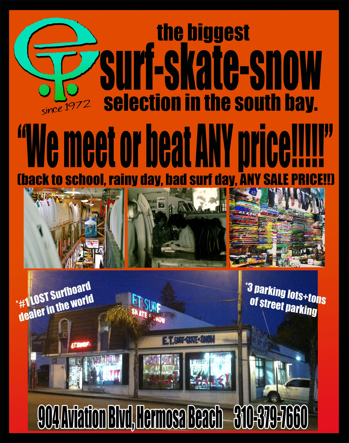 Best of the Beach 2014, Surf Shop: ET Surf