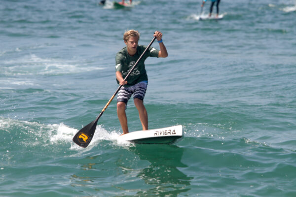 Dana Point highschooler Max Flemming took first in both the Hennessey's Return to the Pier and the USSUP Michelob Ultra men's open.