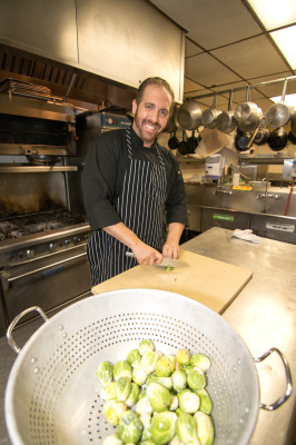 Chef Nael Taki. Photos by Brad Jacobson (CivicCouch.com)