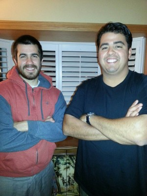 Matthew Vargas and Clayton Munoz. Courtesy of Clayton Munoz