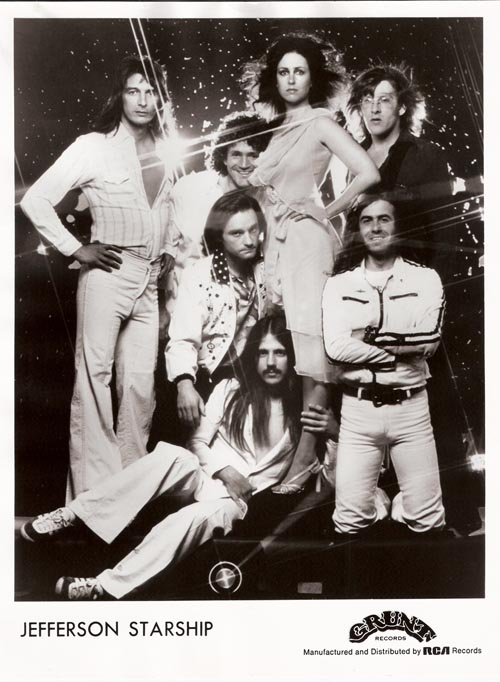 Johny Barbata with Jefferson starship.