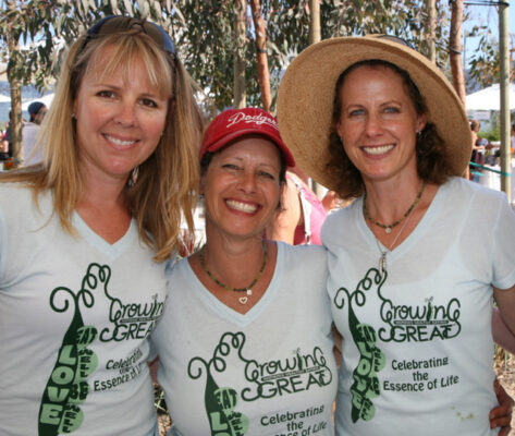 GrowingGreat founders, from left, Lori Sherman, Peggy Curry and Marika Bergsund. All photos courtesy of Peggy Curry
