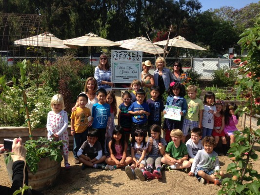 Valmonte Children's Garden was recently awarded Garden of the Season by the Silver Spur Garden Club.