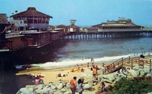 The Redondo Pier, circa 1960s. Courtesy Redondo Beach Historical Society