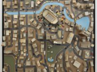 """Kiel Johnson's """"Urban Sprawl Project: River Front"""" is among the work in """"Watchmen: Surveillance and The Flaneur,"""" through July 26 at the Torrance Art Museum. More at torranceartmuseum.com. COURTESY OF TORRANCE ART MUSEUM"""
