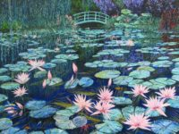 """""""Printemps"""" is on view through June 22 in the Artists' Studio Gallery, located in the Promenade on the Peninsula, Rolling Hills Estates. George Chirinian, whose """"Tribute to Monet"""" is pictured, speaks about his work on Saturday from 3 to 4 p.m. The show includes painter Jeanne Zaske and jeweler Nancy Comaford. (310) 265-2592 or artists-studio-pvac.com. COURTESY OF GEORGE CHIRINIAN"""