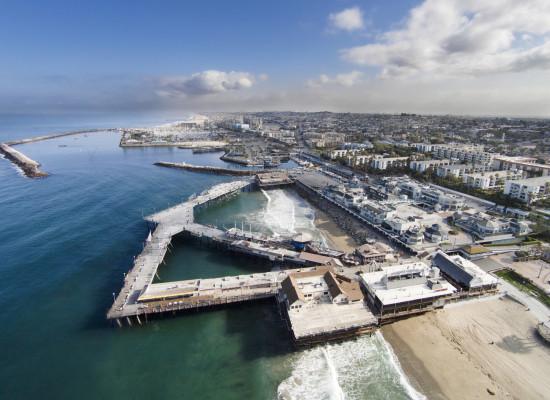 The Redondo Beach waterfront. Photo