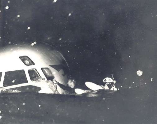Paul Matthies and fellow lifeguards were the first rescuers to reach United Flight 266 after it crashed a few miles off of Los Angeles International Airport in 169. Photo courtesy of Arthur Verge