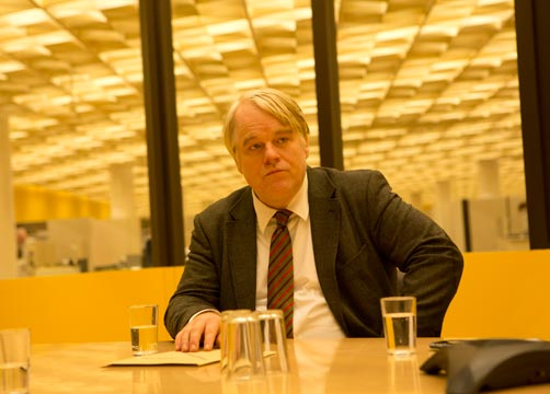 Philip Seymour Hoffman in A Most Wanted Man. Photo credit: Kerry Brown