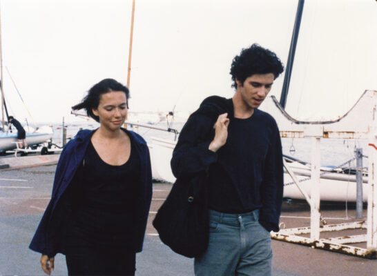 Amanda Langlet (Margot) and Melvil Poupaud (Gaspard), A SUMMER'S TALE, Courtesy of Big World Pictures
